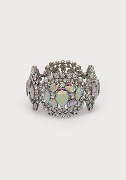 bebe Stone Stretch Bracelet