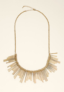 bebe Tribal Spike Necklace