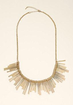 bebe Tribal Spike Necklace