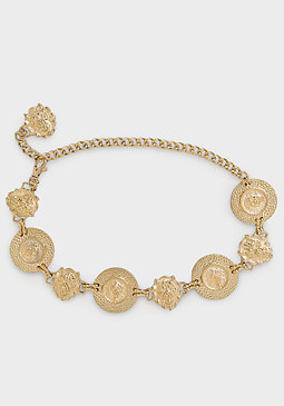 Lion Head Chain Belt at bebe