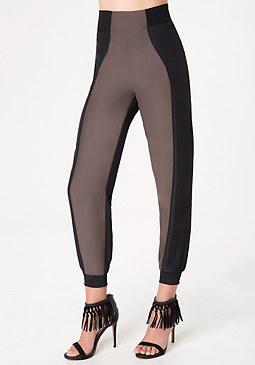 bebe Lana Contrast Pants