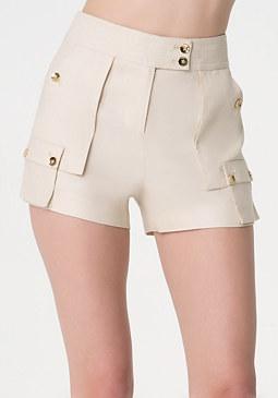 Soft Cargo Shorts at bebe