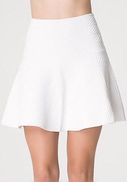 bebe Fit & Flare Miniskirt