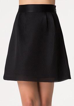 bebe Mesh Circle Skirt