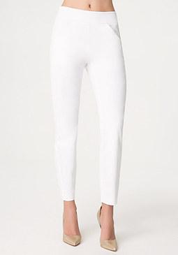 bebe Libby Cotton Sateen Pants