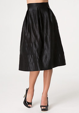 bebe Zola Solid Skirt
