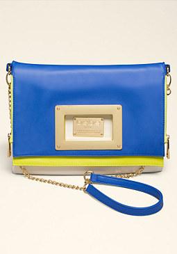 bebe Janessa Colorblock Bag