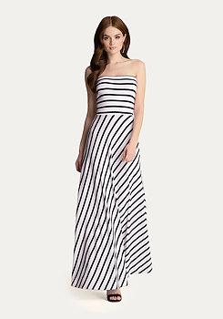 bebe Striped Maxi Dress