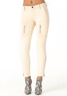 bebe Summer Cargo Skinny Pants