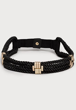 Rope Stretch Belt at bebe