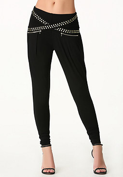 bebe Studded Atlas Pants