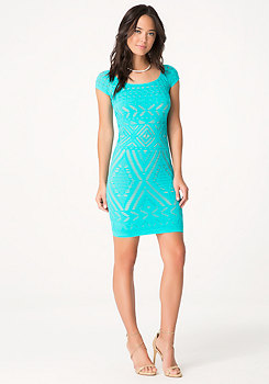 bebe Tribeca Lace Dress