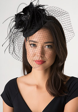 bebe Derby Net Fascinator