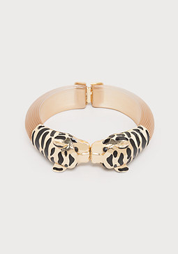 bebe Panther Head Bracelet