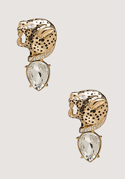 Jaguar Earrings at bebe