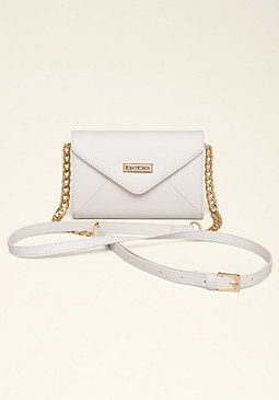 bebe Celina Tech Crossbody Bag