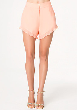 bebe Casey Flutter Shorts