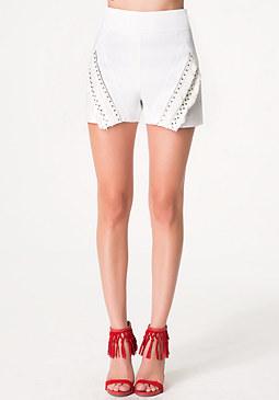 bebe Lynn Embellished Shorts