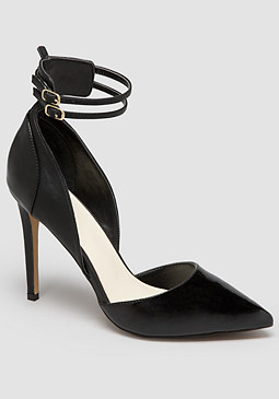 bebe Black Elviraa Pumps