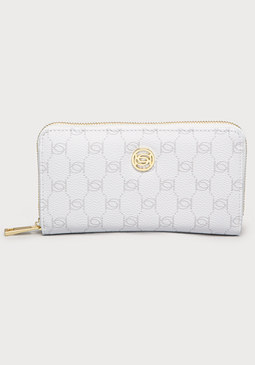 Logo Print Wallet at bebe