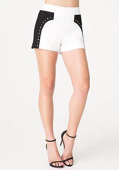 bebe Josie Studded Shorts