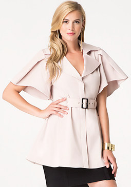 bebe Nancy Flutter Sleeve Coat