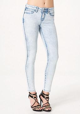 bebe Acid Heartbreaker Jeans