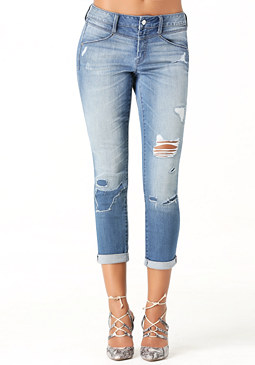 bebe Surfside Repair Jeans