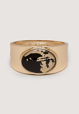 bebe Oval Hinge Bracelet