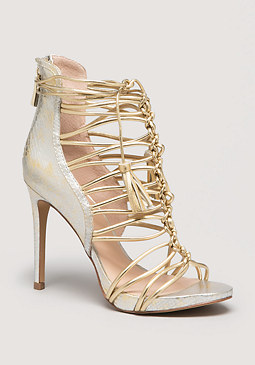 bebe Hedda Strappy Sandals