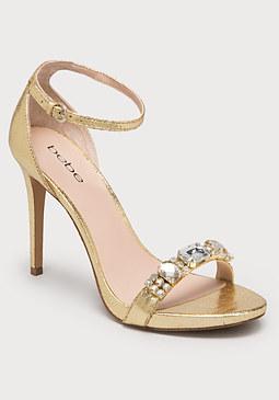 bebe Helgaa Ankle Strap Sandals