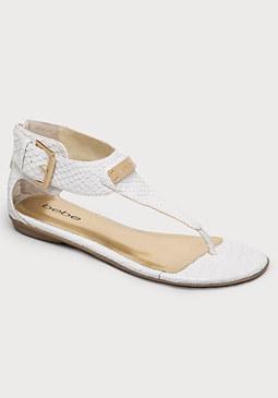 bebe Bernadette Flat Sandals
