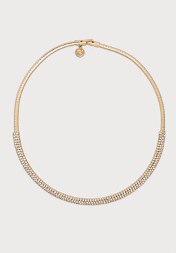 Snake Chain Collar Necklace at bebe