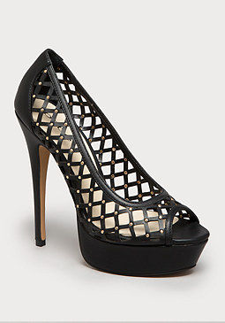 bebe Kendelle Laser Cut Pumps