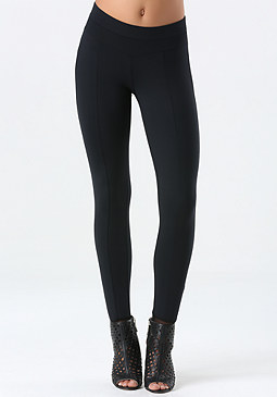 bebe Power Mesh Stirrup Leggings