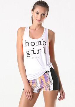 bebe Bomb Girl Tank