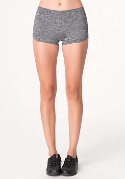 bebe Space Dye Ruched Shorts