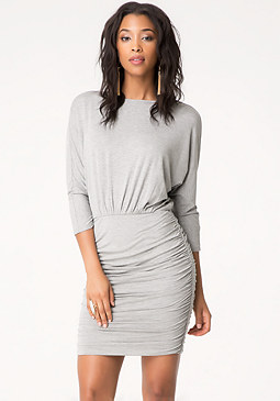bebe Tanya Ruched Dress