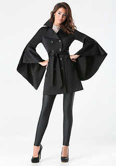 Monica Drama Sleeve Coat