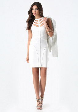 bebe Miranda Bandage Dress
