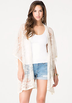 bebe Lace Cover Up