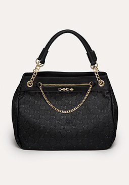 bebe Kelly Debossed Tote