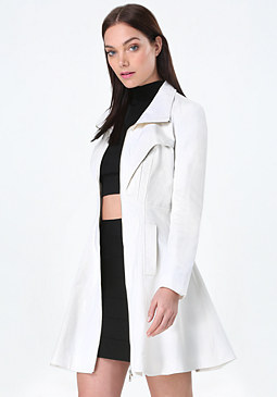 bebe Margret Canvas Tea Coat