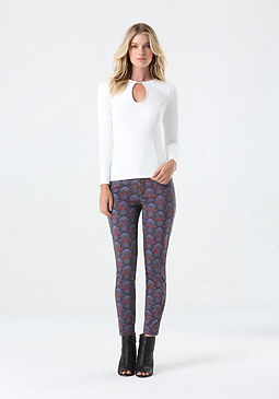bebe Tiara Skinny Jeans