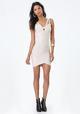 bebe Fallon Bandage Dress