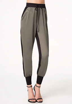 bebe Colorblock Jogger Pants