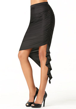 bebe Petite Cascading Skirt