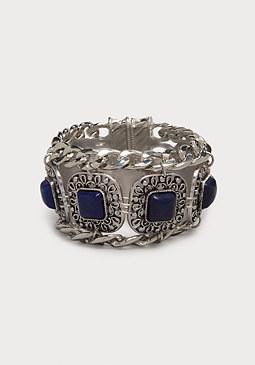 bebe Lapis Stone Bracelet