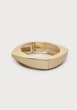 bebe Angular Hinge Bracelet