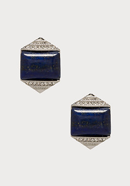 bebe Lapis Stone Stud Earrings